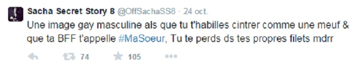 star24-TV-Sacha-tacle-le-coming-out-d-iliesse-tweet