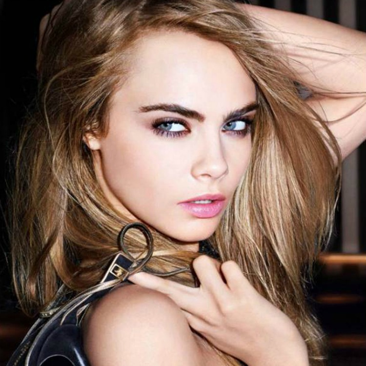 Model Cara Delevingne the face of new YSL product. Thousands of women have joined the waiting list for a new 24-hour foundation which uses space-age technology. See swn story SWMAKEUP. Unsightly tide-marks and the caked-on look have been a persistent nightmare for millions of women wearing foundation. But Yves Saint Laurent claim to be able to bring an end to the problem with the groundbreaking Fusion Foundation. The new makeup has taken inspiration from the processes used by space scientists to capture stellar dust particles. It is also the latest product that Cara Delevingne has loaned her face to - with the A-list beauty fronting the productÌs ad campaign. And the product seems to have gone down a storm with more than 12,000 women already joining the waiting list - almost a month before it is released