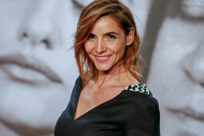 Actress Clotilde Courau poses during a photocall as she attends the 2014 Lumiere Film Festival in Lyon, October 13, 2014. Picture taken October 13, 2014. REUTERS/Robert Pratta (FRANCE - Tags: ENTERTAINMENT) - RTR4A4BJ
