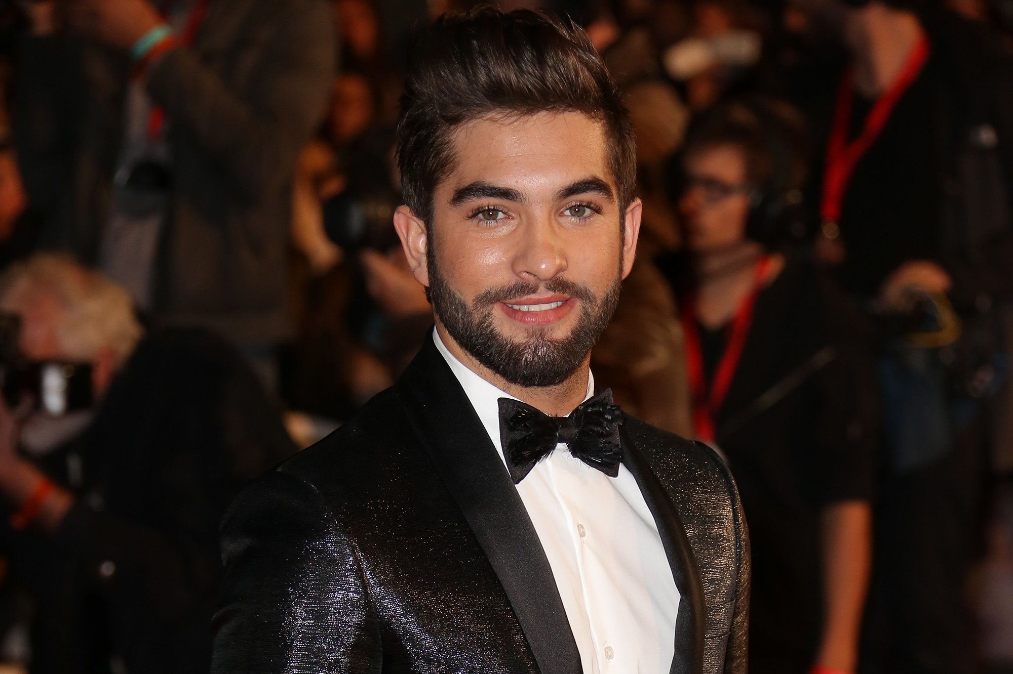 Kendji Girac arrives at the 16th NRJ Music Awards ceremony in Cannes,in the south of France. Cannes, FRANCE - 13/12/2014. ** Photos must not be used out of context.*/VULAURENT_2215175/Credit:LAURENTVU/NMA15/SIPA/1412132326