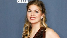 Louane Emera arriving at the 40th Annual Cesar Film Awards ceremony held at the Theatre du Chatelet in Paris, France on February 20, 2015. Photo by Bernard-Briquet-Gouhier/ABACAPRESS.COM  | 488707_025 Paris France