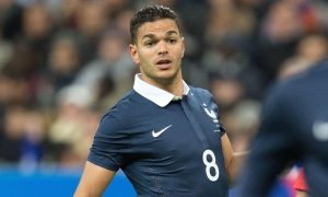 Mandatory Credit: Photo by NIVIERE/SIPA/REX Shutterstock (5367847ab) Hatem Ben Arfa of France in action during the International Friendly match between France and Germany at the Stade de France in Paris France v Germany, International football match, Stade de France, Paris, France - 13 Nov 2015