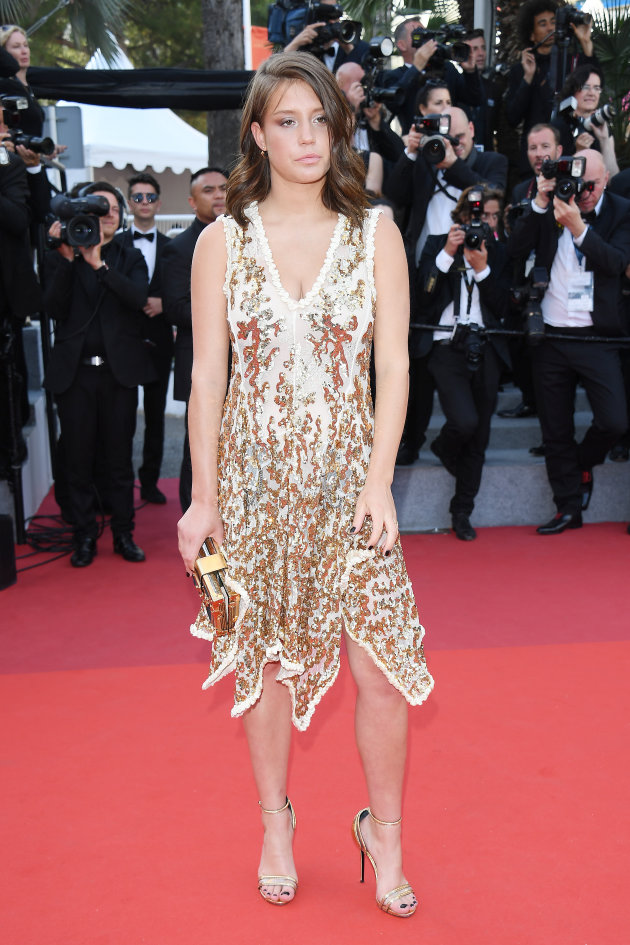 adele-exarchopoulos-attends-the-70th-anniversary-screening-during-the-picture-id687343662