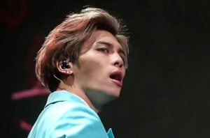 Kim Jong-hyun, the lead singer for South Korea's top boy band Shinee performs in this undated photo taken by Yonhap. Yonhap/via REUTERS ATTENTION EDITORS - THIS IMAGE HAS BEEN SUPPLIED BY A THIRD PARTY. SOUTH KOREA OUT. NO RESALES. NO ARCHIVE.